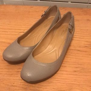 Silver naturalizer wedges. Size 6.5